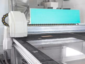 Lasergraviermaschine für Glas